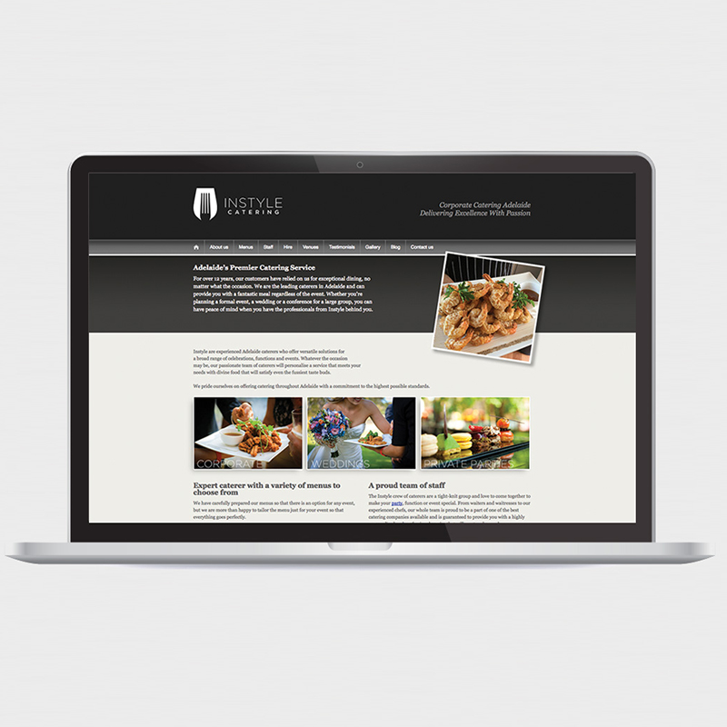 Instyle Catering – Website