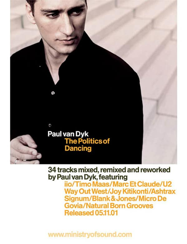 Paul Van Dyk CD – Design