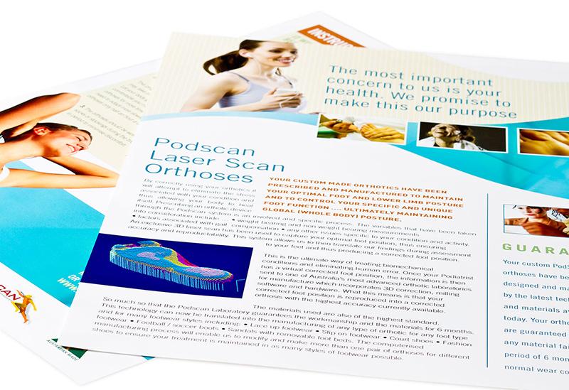 Podiatry Care – Branding