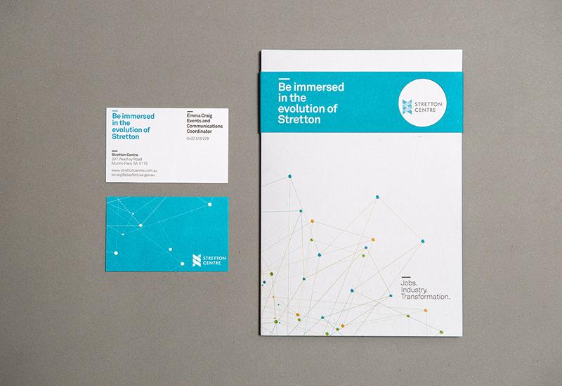 Stretton Centre – Graphic Design