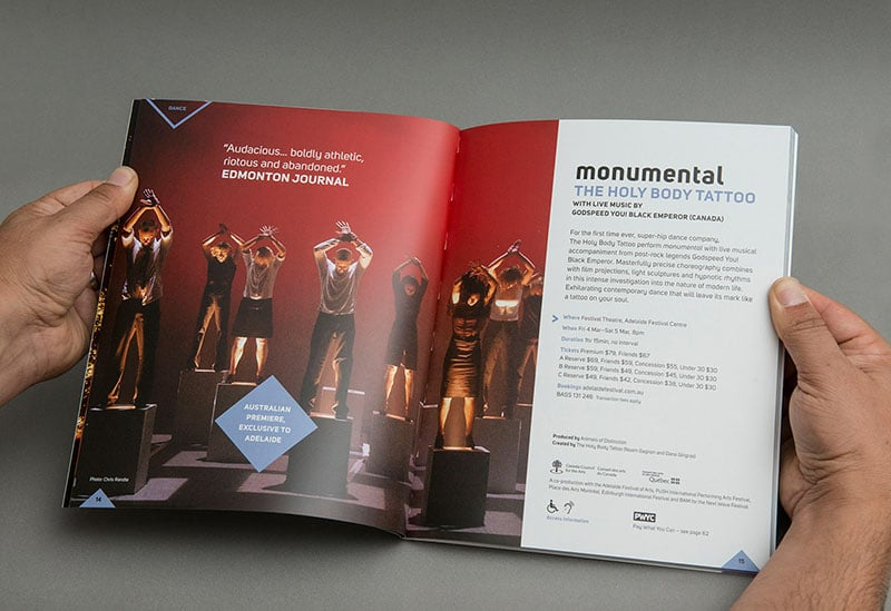Adelaide Festival 2012/16 – Graphic Design