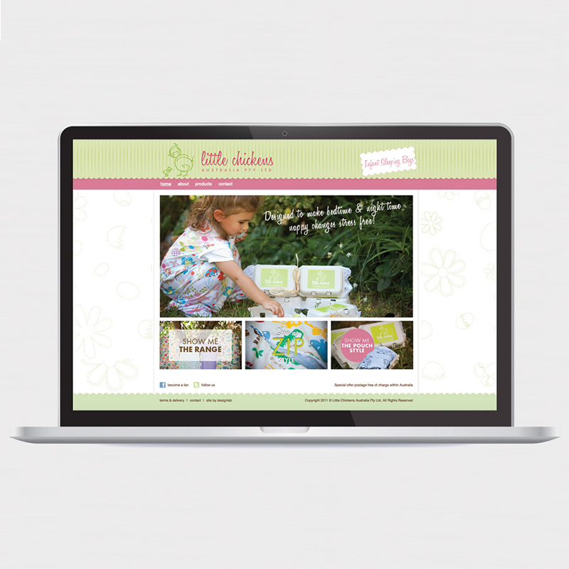 Little Chickens – Website
