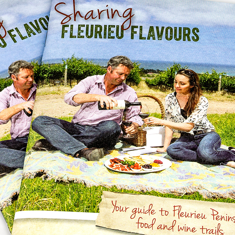 Sharing Fleurieu Flavours – Brand Identity