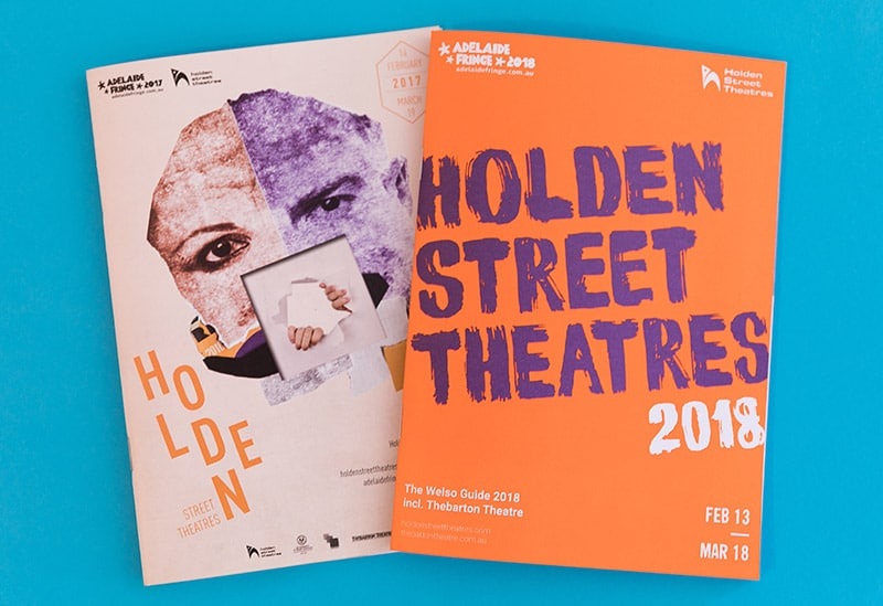 Holden Street Theatre – Graphic Design