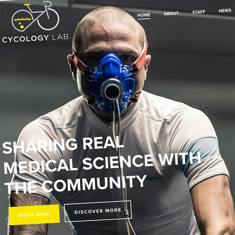 Cycology Lab – Website Design