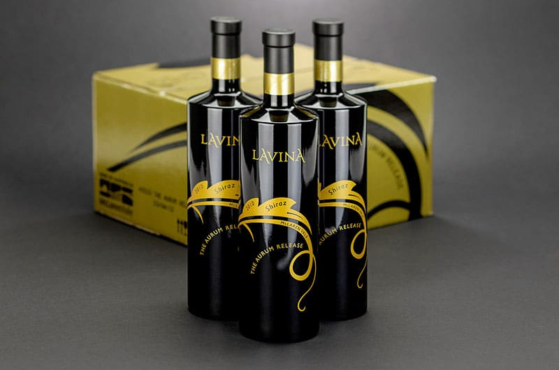 Lavina Wines – Packaging