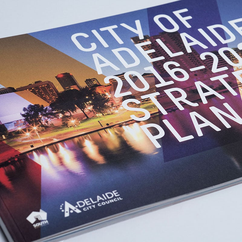 City of Adelaide – Graphic Design