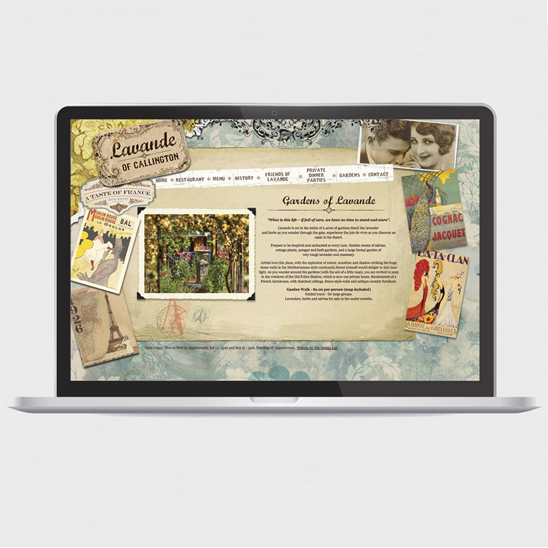 Lavande of Callington – Website