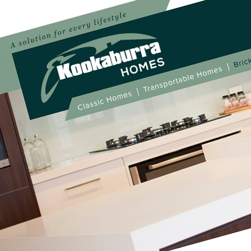 Kookaburra Homes – Website Maintenance