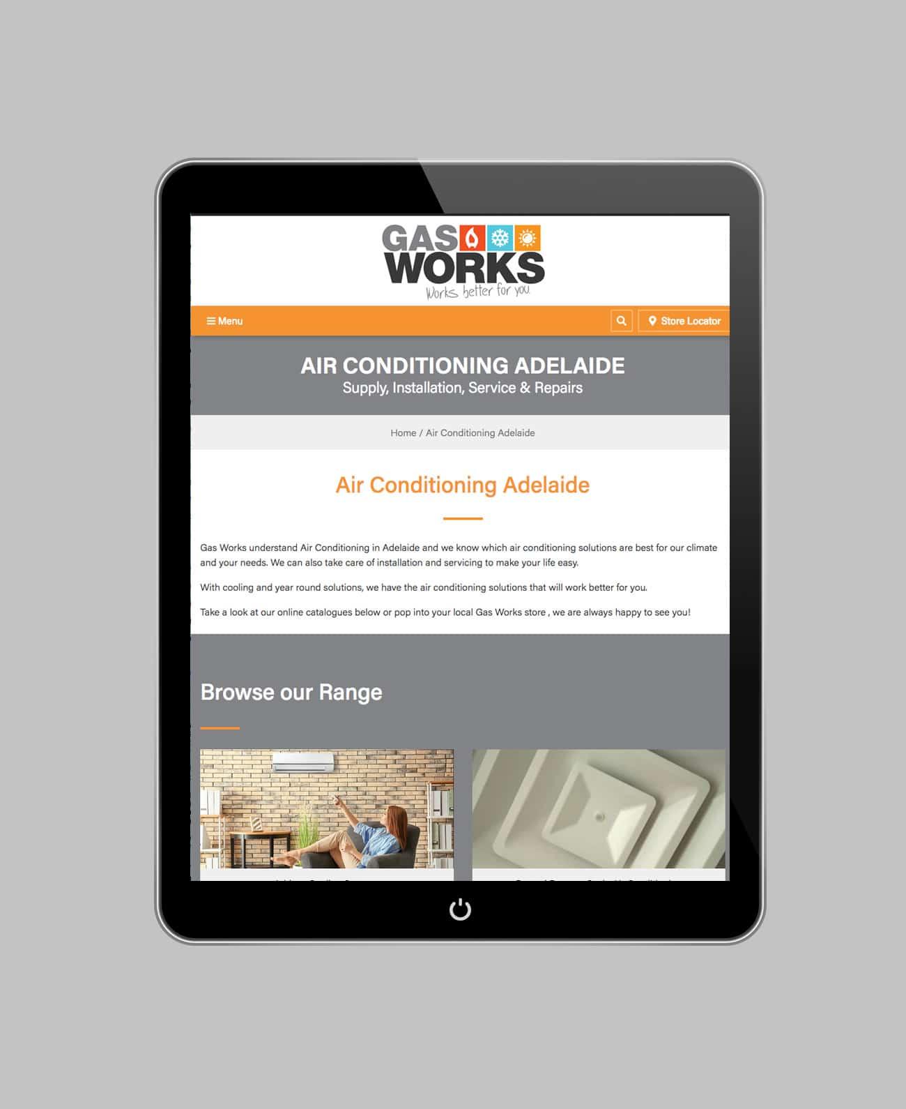 Gas Works – Website Design